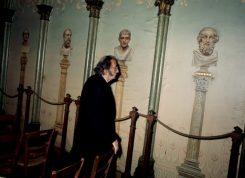 Salvador Dali na Capela da Humanidade, em Paris. Foto: P. Haban para Paris Match (1969), direitos reservados