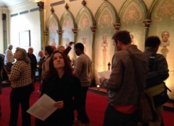 Visitantes aproveitaram as Jornadas Européias do Patrimônio para conhecer a Chapelle de l'Humanité, em Paris