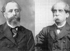 Miguel Lemos e Teixeira Mendes fundaram a Igreja Positivista do Brasil